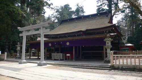 鹿島神宮本殿