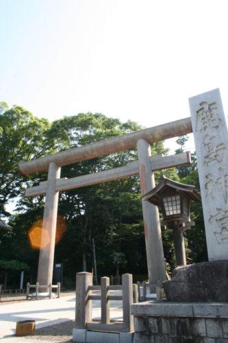 Kashima torii